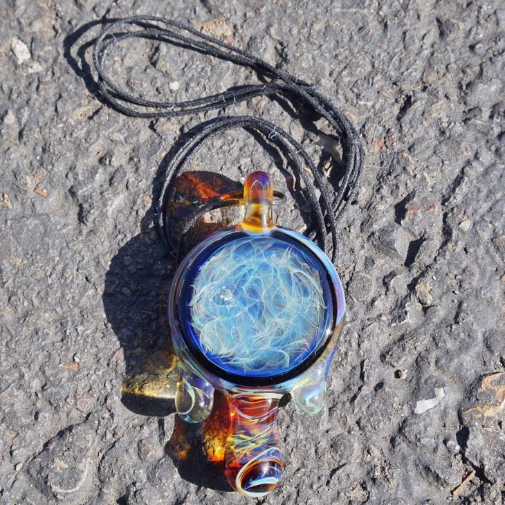 colorful glossy pendant design