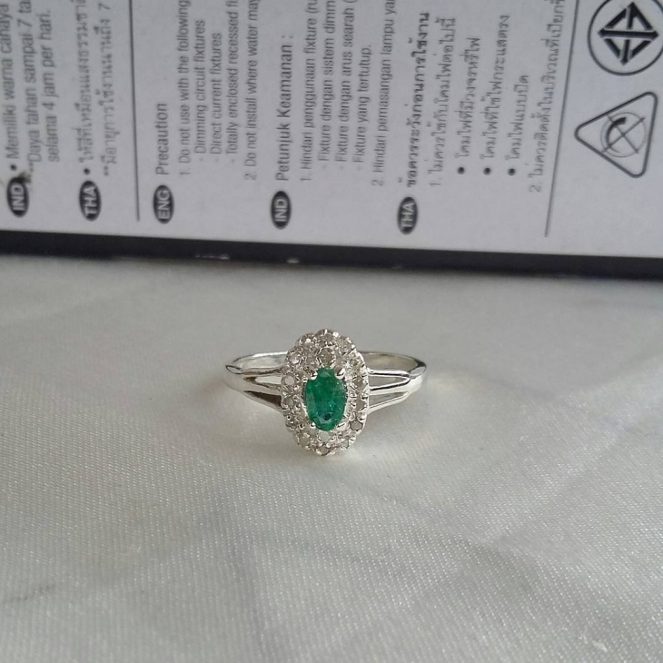 Emerald Green Statement Ring
