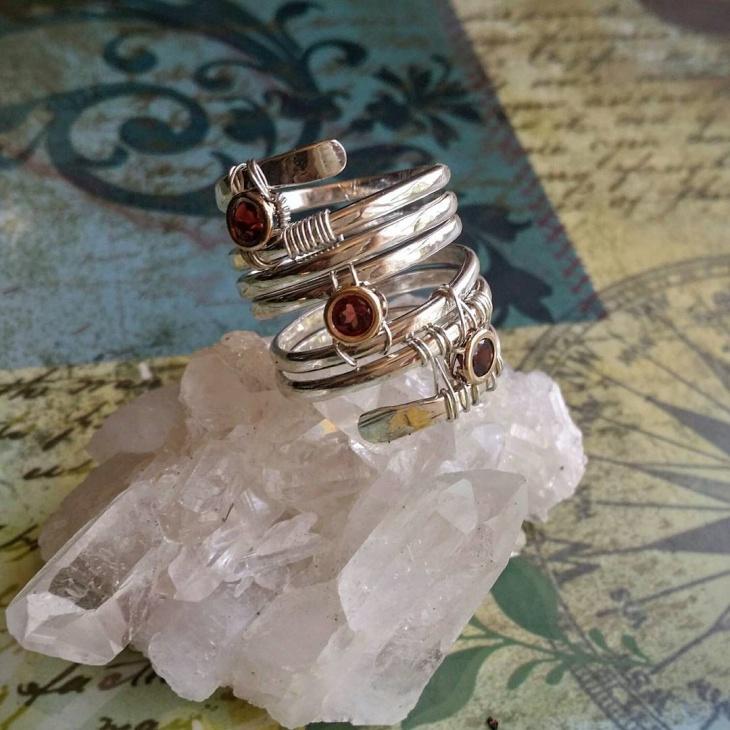 Modern Spiral Ring Idea