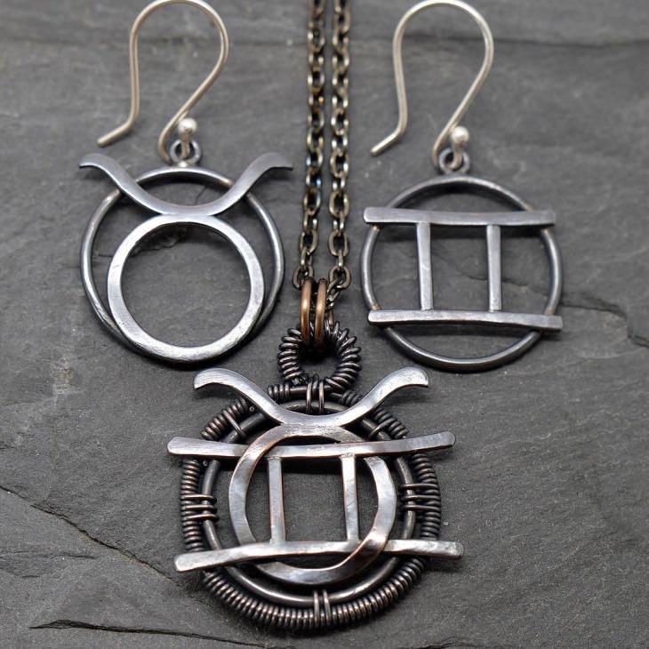 Wire Zodiac Jewelry Idea