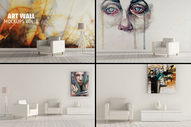 art-wall-sticker-mockup