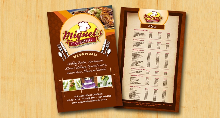 16 best catering flyer templates ai psd docs pages design