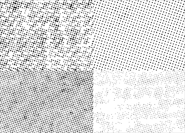 halftone dot pattern design