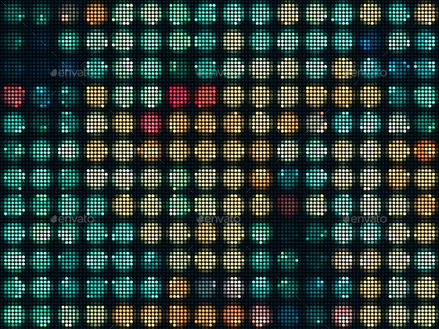 High Quality Colorful Dot Pattern