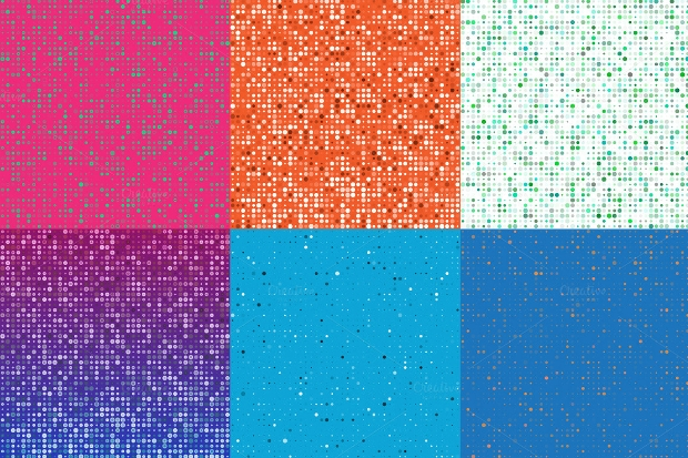 dots vector pattern