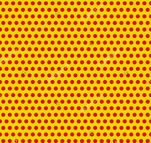 Yellow PSD Dot Pattern