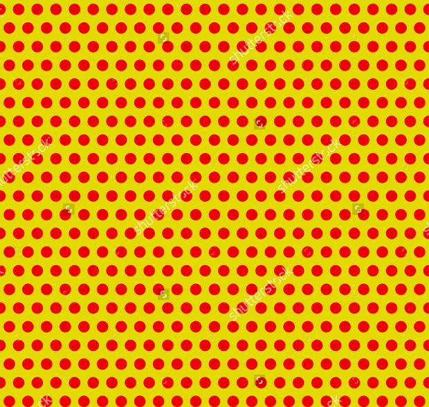 yellow psd dot pattern