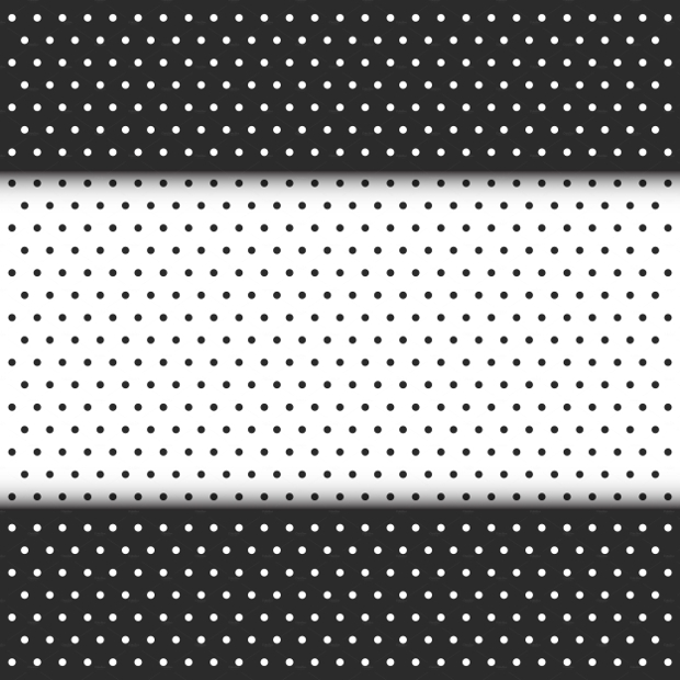 Black and White Seamless Dot Pattern