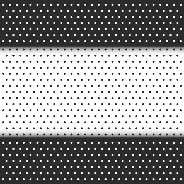 black and white seamless dot pattern