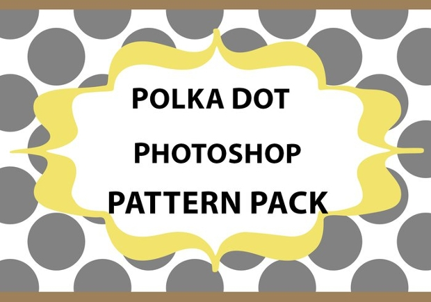 Photoshop Polka Dot Patterns Pack