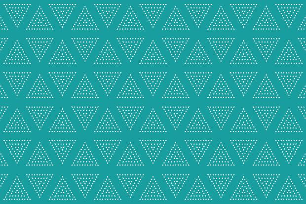 triangle dot seamless pattern