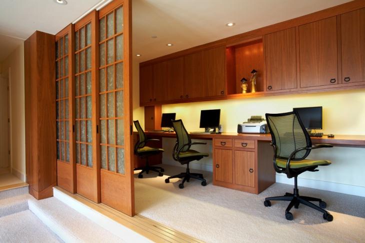 home tech office idea