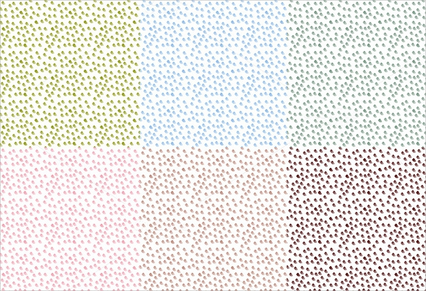watercolor dot seamless pattern