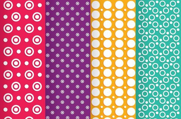 circle line dot patterns