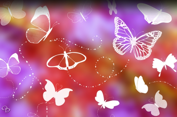 Cute Butterfly Brushes Pack