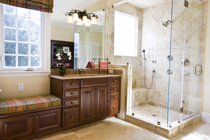 Shower Alcove Base Idea