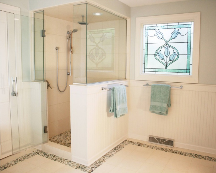 Victorian Bathroom with Alcove Shower