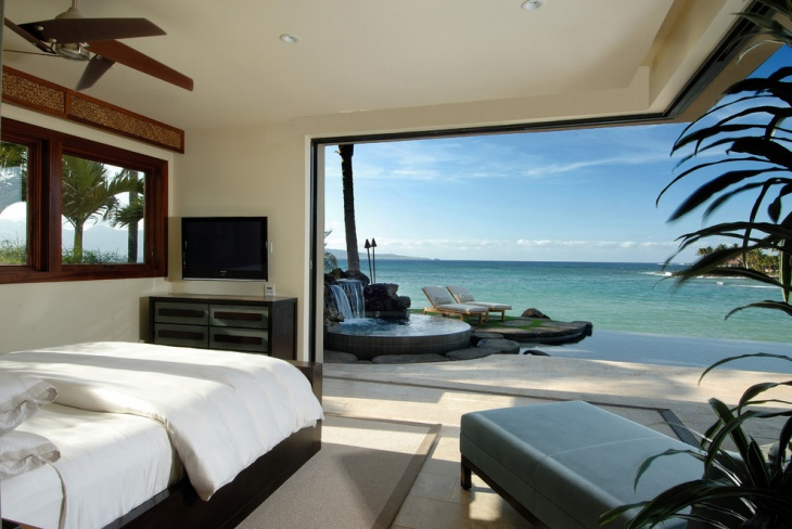 Urban Beach View Bedroom