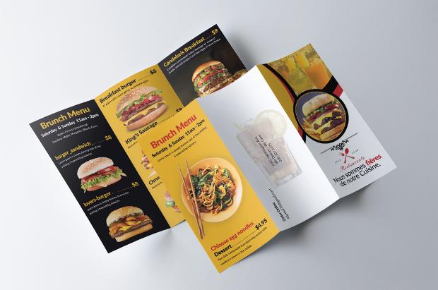 healthy food brochure