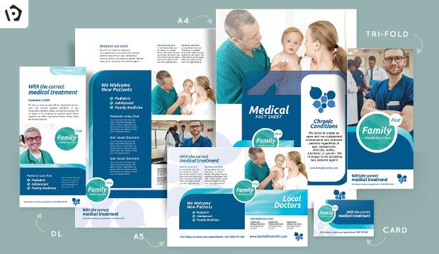 health care brochure design