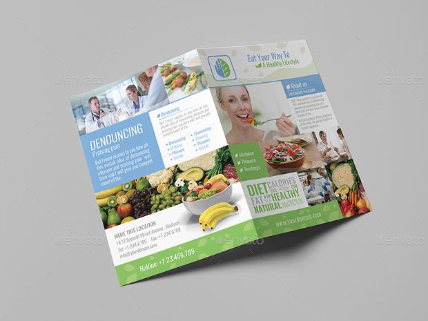 dietitian brochure template