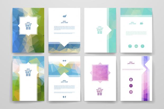 diet brochure designs