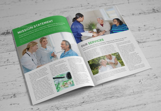 Medical Health Care Brochure