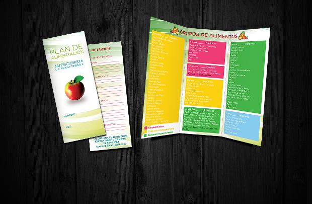 nutrition plan brochure