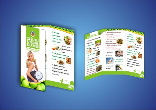 healthy diet brochure