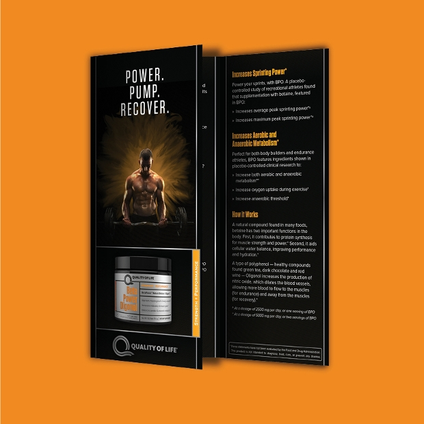 sports nutrition brochure
