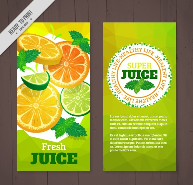healthy life brochure