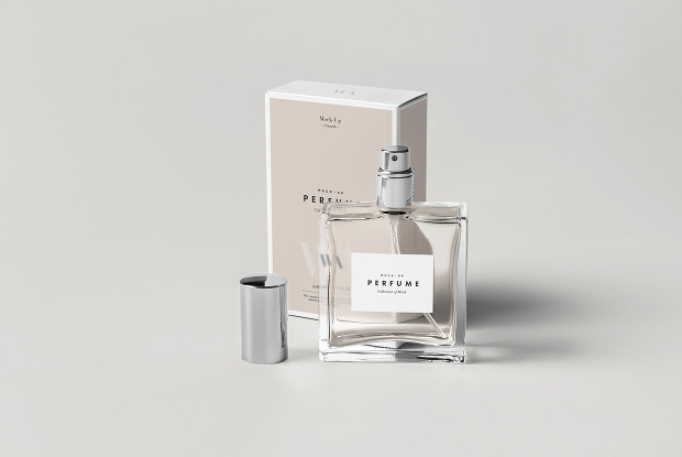 perfume bottle mock up