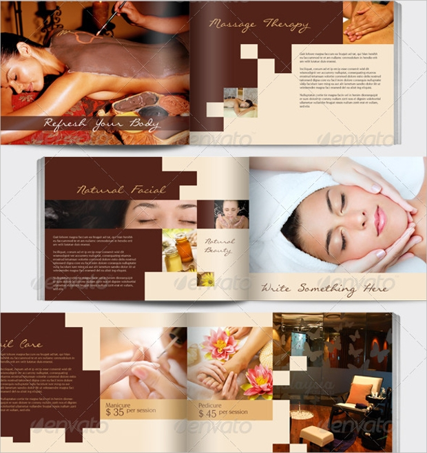 Spa Treatment Brochure