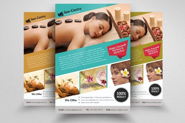 Beauty Spa Massage Brochure