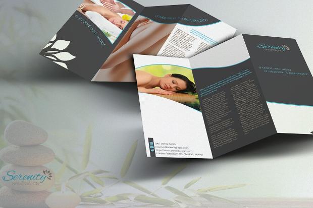 Serenity Spa Massage Brochure
