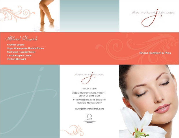 Salon and Spa Brochure Design