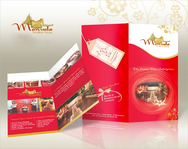 Thai Spa Massage Brochure