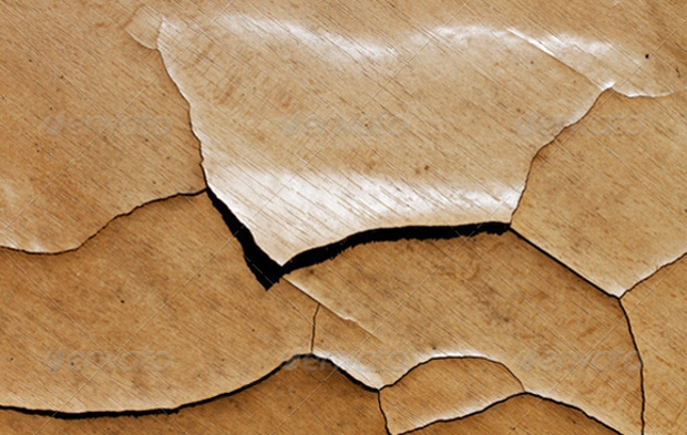 High Quality Cracked Wood Texture