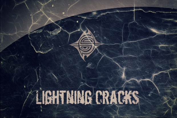 lightening crack texture
