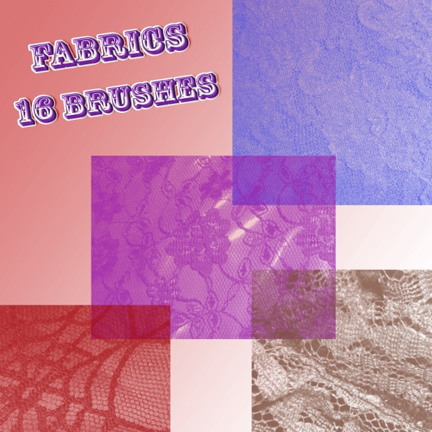 photoshop fabric brushes