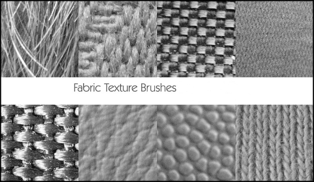 fabric texture brushes pack