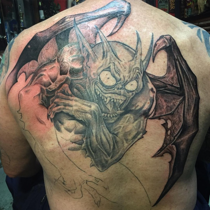 Gargoyle Tattoo for Men