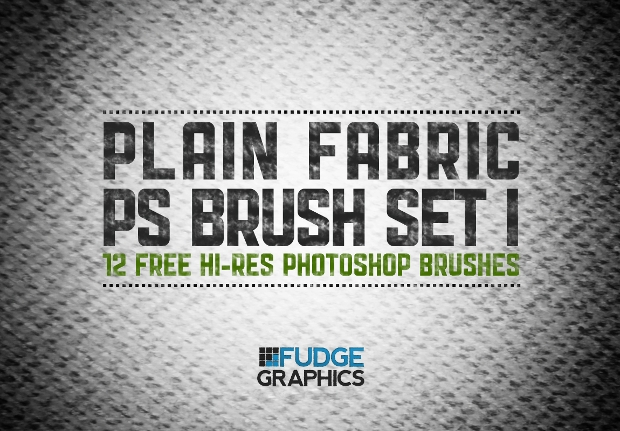 plain fabric ps brush set