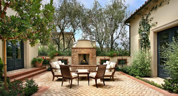 17+ Brick Patio Designs , Ideas | Design Trends - Premium PSD ...