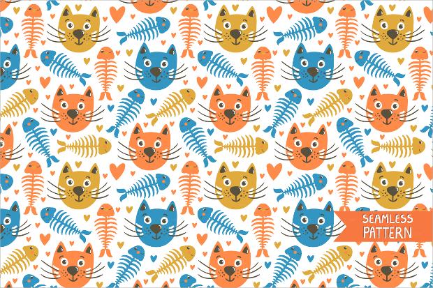 High Quality Black Cat Pattern