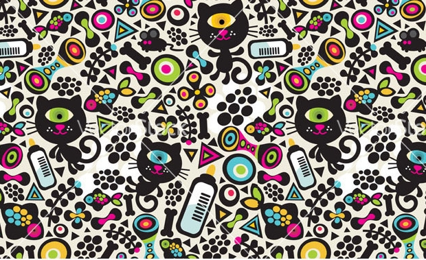 extraordinary cat pattern for you