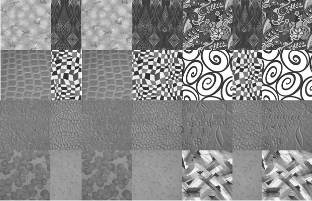 black and white fabric photoshop brushes