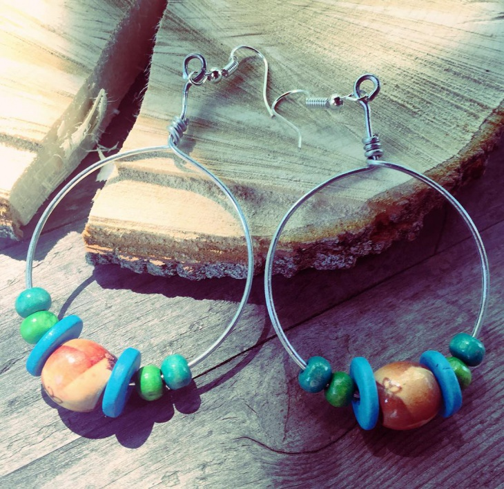 Trendy Hoop Earrings Idea