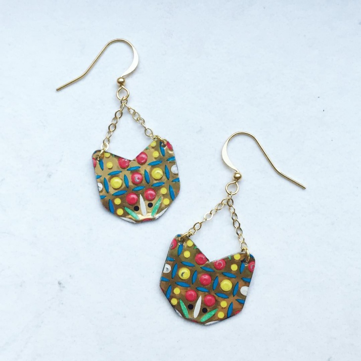 Boho Style Dangle Earrings