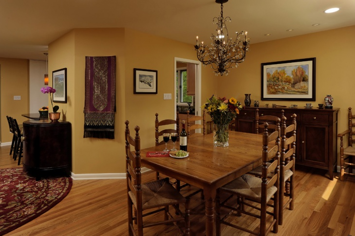 20 dining room color designs ideas design trends for Wall paint ideas for dining room